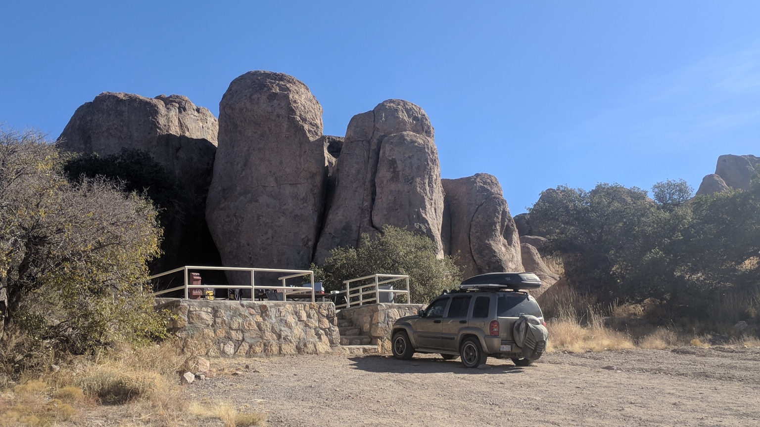 Home base at City of Rocks State Park- New Mexico